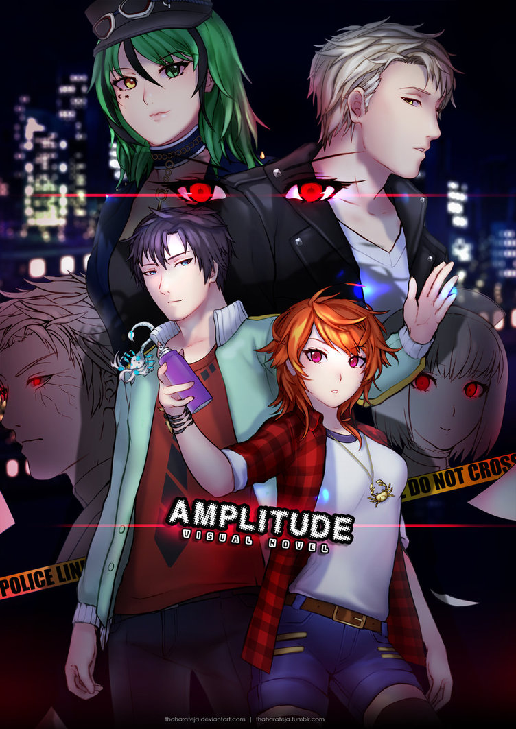 16 05 08   Amplitude Visual Novel Poster  Ce  By T by Sakon04