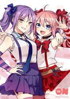 Reon and Reyna! by Sakon04