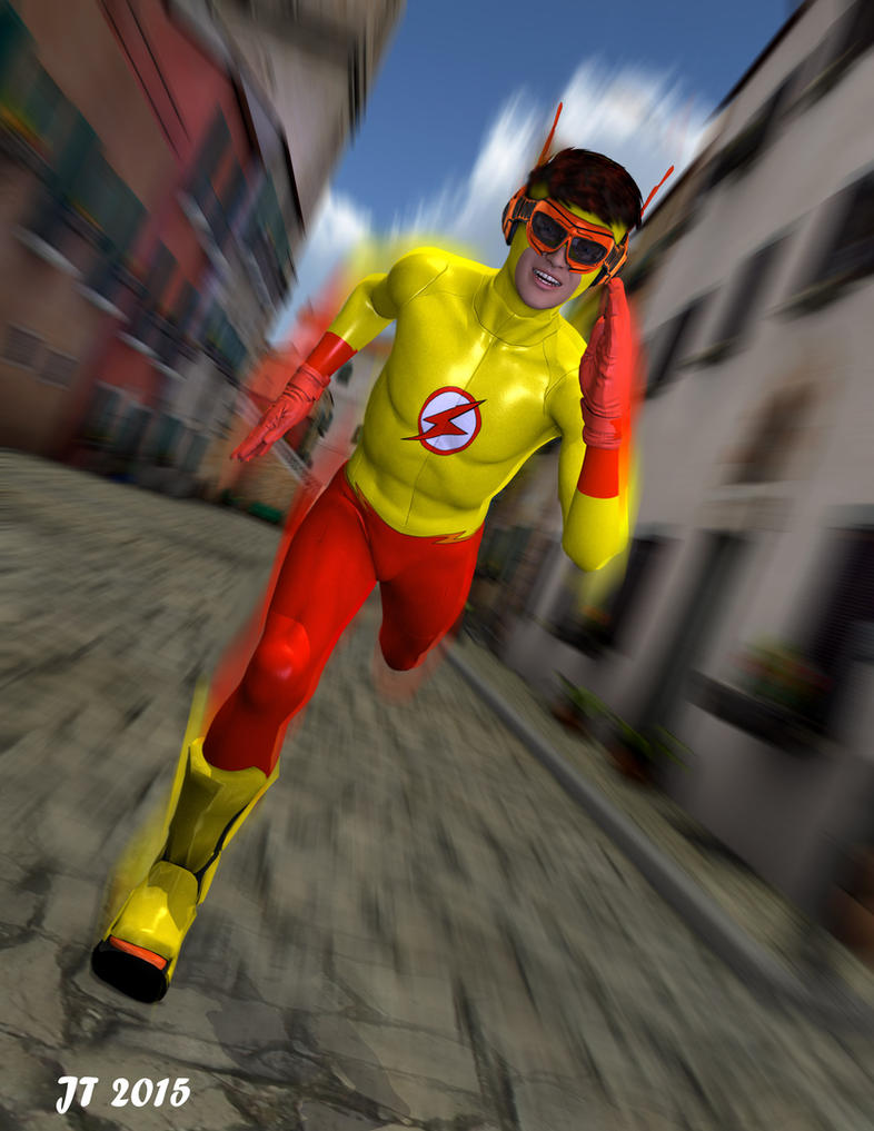 Kid Flash by tiangtam