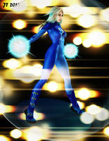 Invisible Woman in the Eye of the Maelstrom by tiangtam