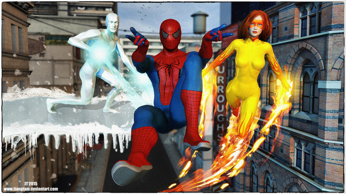 Spider-Man and His Amazing Friends by tiangtam on DeviantArt
