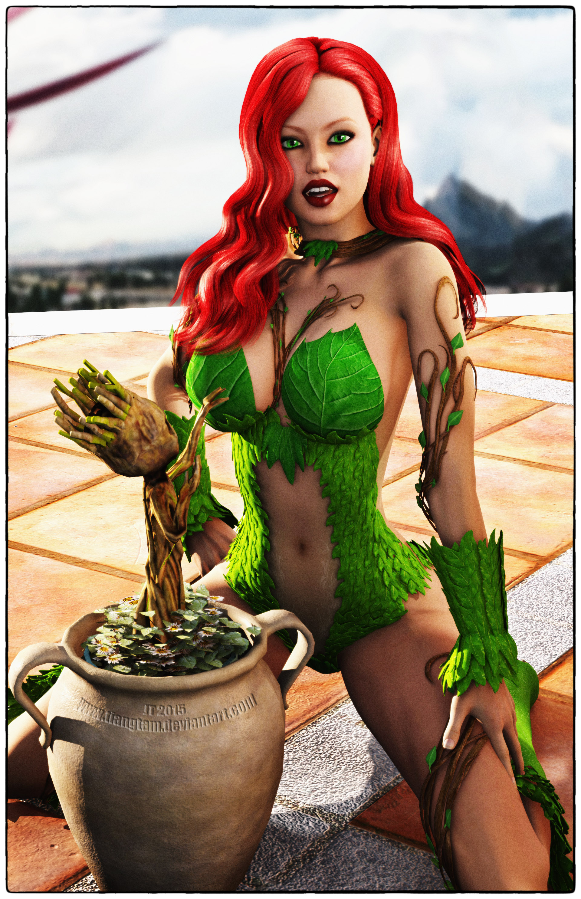 Poison Ivy by tiangtam