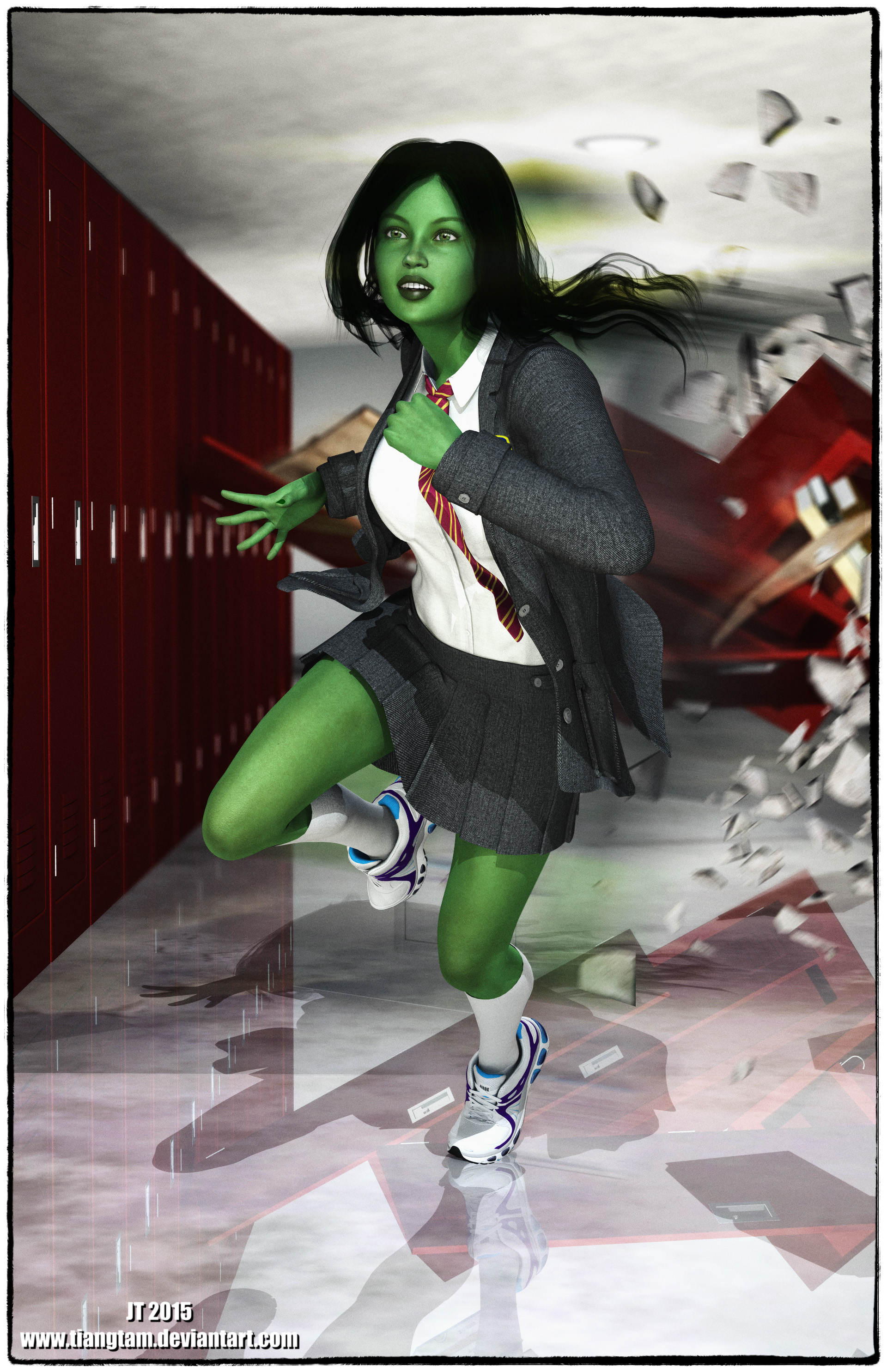 Hulk Girl By Tiangtam On Deviantart