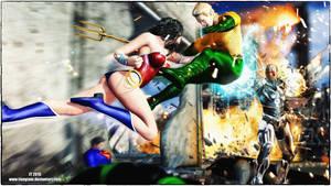 Wonder Woman v Aquaman