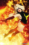 Ms Marvel Pin-up