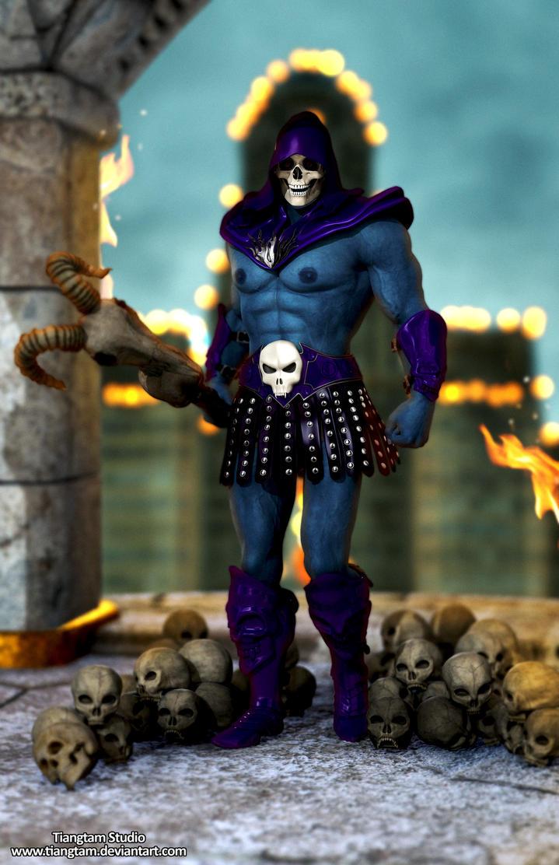 Skeletor WIP by tiangtam
