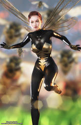 Wasp Iray by tiangtam
