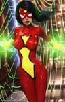 Jessica Drew AKA Spider Woman
