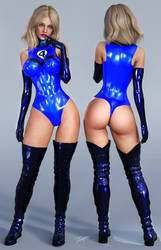 Character Reference Invisible Woman by tiangtam