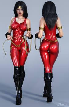 Character Reference Wonder Girl Donna Troy v2