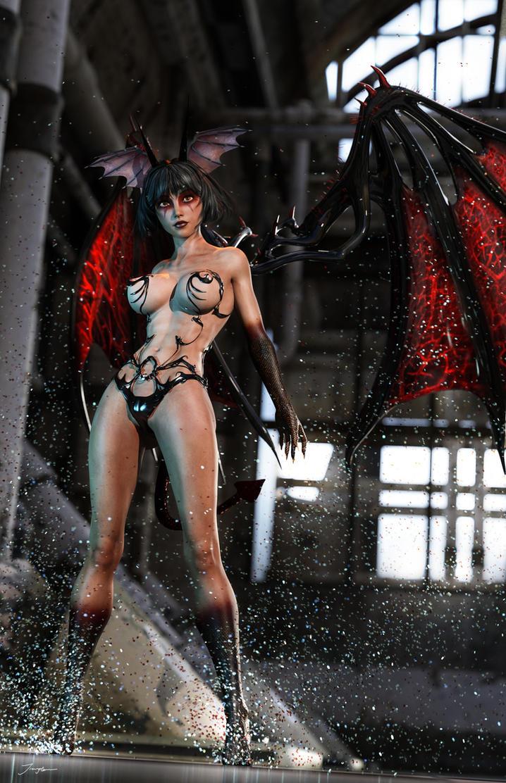 Go Nagai's Devil Lady by tiangtam
