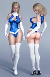 Character Reference Invisible Woman v3 by tiangtam