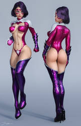 Character Reference Star Sapphire v2 by tiangtam