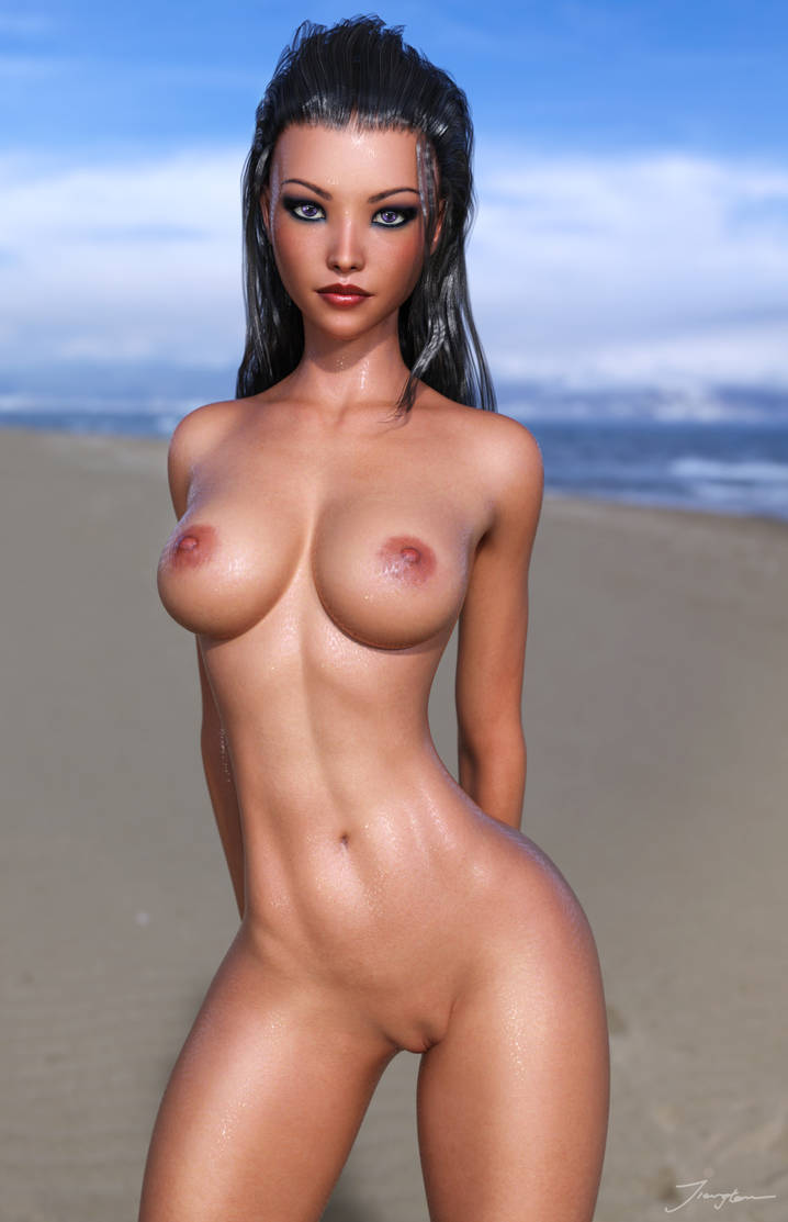 Wet Skin Test 2 by tiangtam