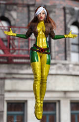 Rogue Green/Yellow Suit by tiangtam