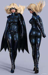 Character Reference Batgirl (Movie Suit) by tiangtam