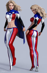 Character Reference American Star by tiangtam