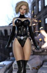Dark Power Girl by tiangtam
