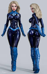 Character Reference Invisible Woman v4 by tiangtam