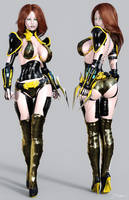 Character Reference Robo Sting by tiangtam