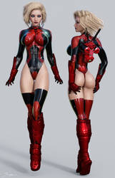 Character ref Red Angel 2 by tiangtam