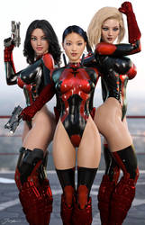 Red Angels by tiangtam