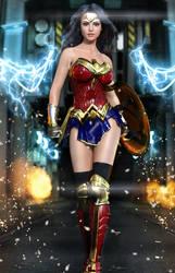 Wonder Woman Fearless by tiangtam