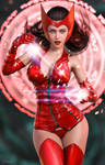 Fun with Scarlet Witch by tiangtam