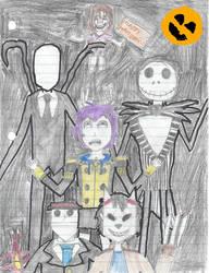 Bernadetta, Creepypasta Halloween by travelman1234
