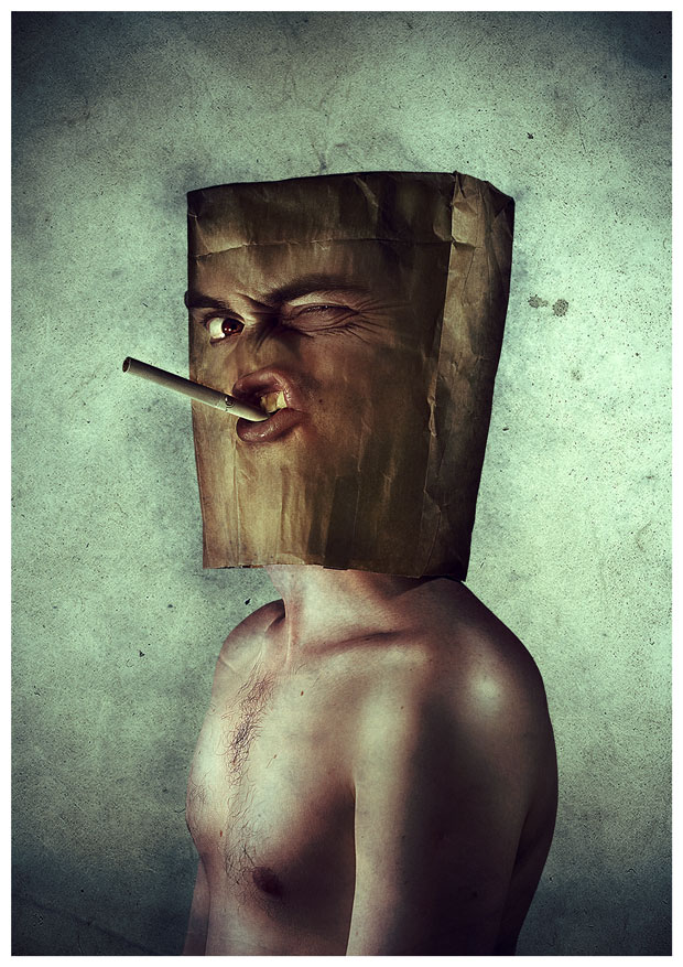 Mr. Paper Bag by anderton