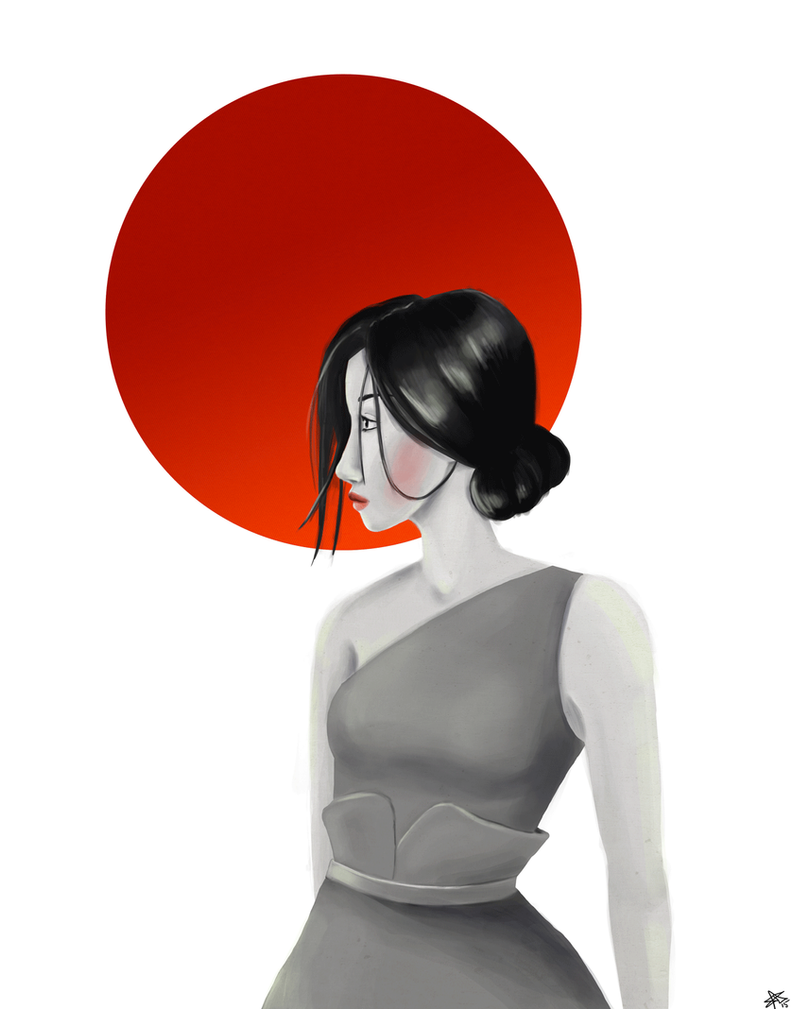 Sun Girl by sabroder