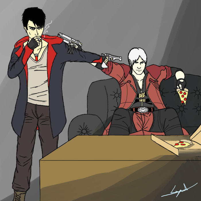 VERSUS: Dante vs Dante by cyril002