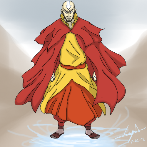 Avatar Aang By Cyril002 On Deviantart