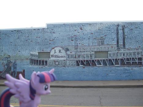 Ponies around Oklahoma