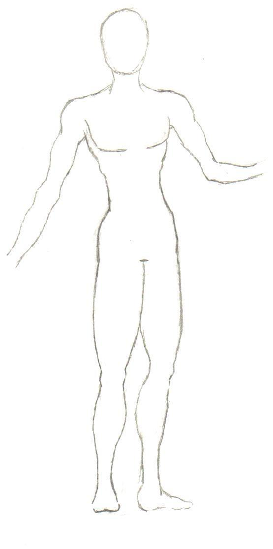 body outline  the prince by frakrabbit on deviantart