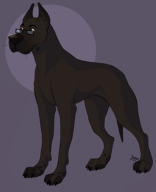 Sean as a Great Dane by Journye