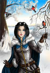 Dragon Age. Human Noble Elissa