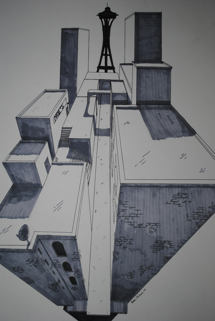 Abstract Architecture By Maestro In Process