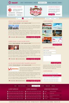 WebART blog, portfolio