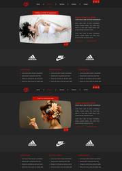 portfolio design by blind91