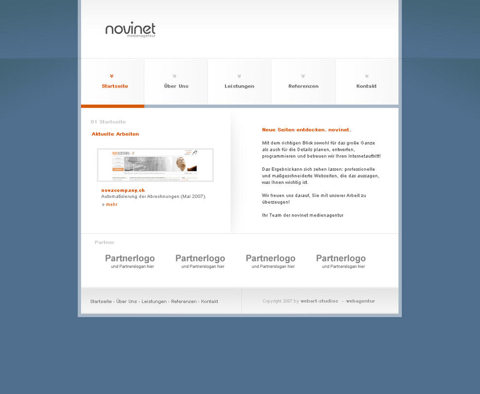 portfolio novinet - update by blind91