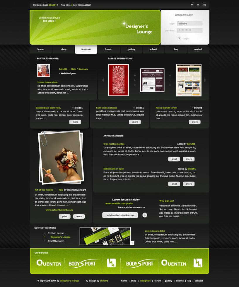 Designer 39 s lounge by blind91 on deviantart for Designer s image