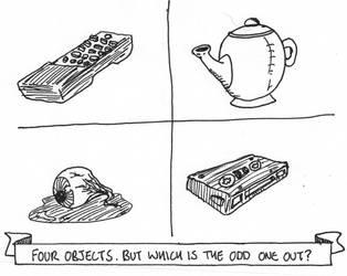 Odd one out by ScottJeffery