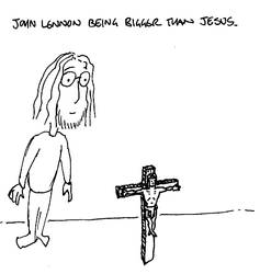 John Lennon, bigger than Jesus