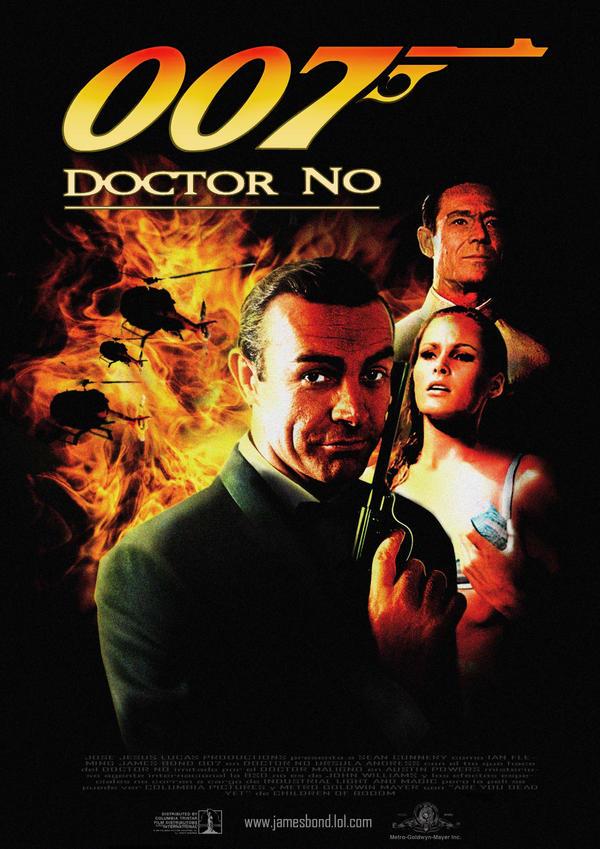 007, Doctor No by LucasHartes on DeviantArt
