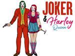 Heromachine: Joker And Harley Quinn (Joker 2019) by irishfist123