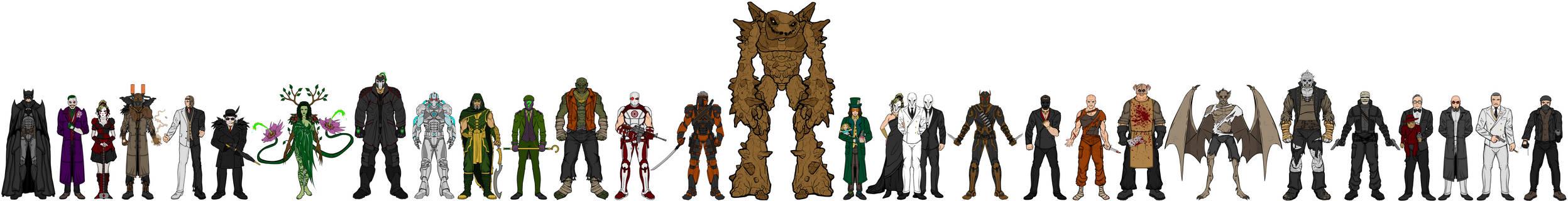 Heromachine: Batman's Rogues Gallery II