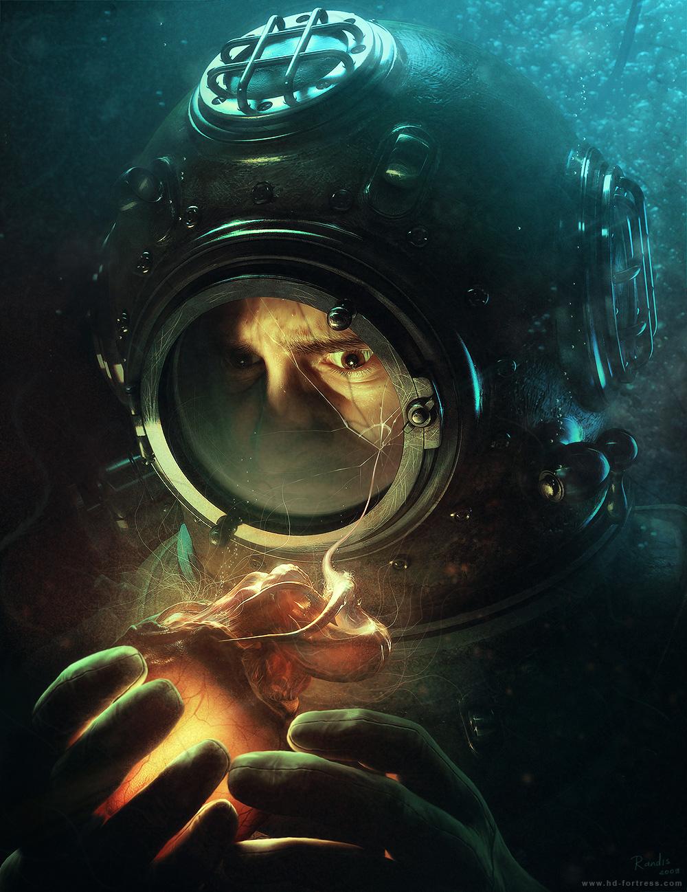 Deep Diver - by Randis by randis