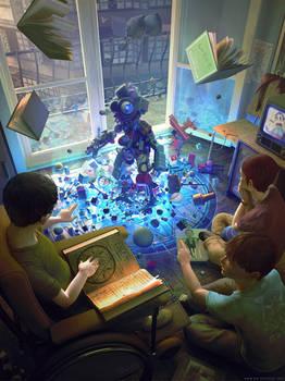GOLEM - toys and magic