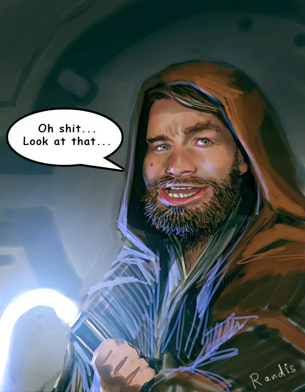 Obi-Wan Kenobi by randis